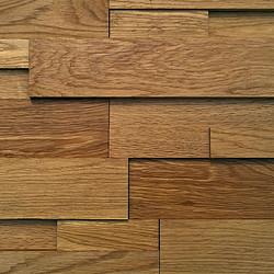 橡木 实木马赛克 高低大气 凹凸参差 原木厂家 MFZ-C014