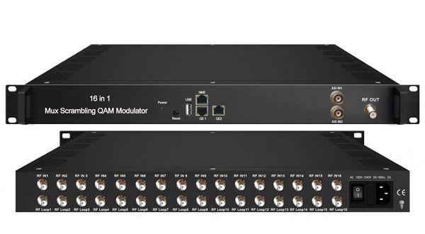 NDS3394C 16合1复用加扰QAM调制器