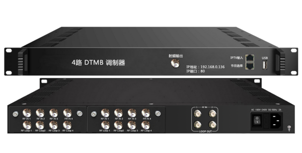 3346S-T 4路DVB-T调制器