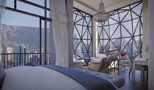 南非一高端酒店可眺望整个开普敦