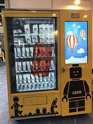 透明液晶屏幕自动贩卖机