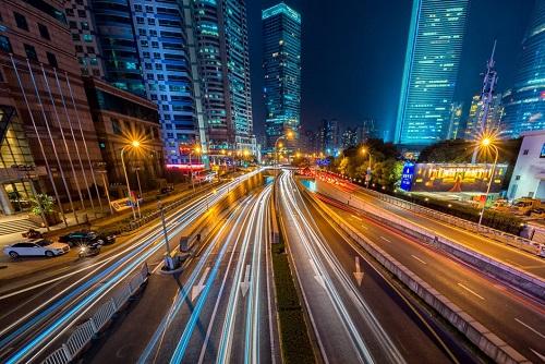 嘉善路灯,美丽通道建设,夜间行车,浙江嘉善公路路灯将在国庆前完工