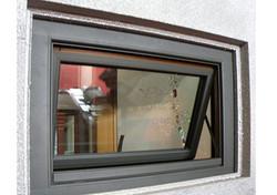 铝包纯木内开翻窗