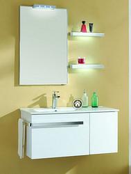 赫塞 分体式简洁浴室柜