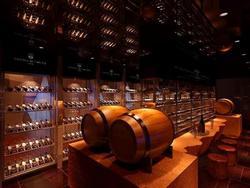 酒吧红酒柜展示