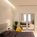 莫斯科New Arbat现代极简风格公寓