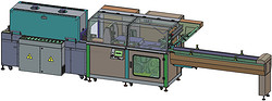 枕式封切、收缩包装机  FL-5545TBI+SM-2020