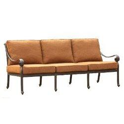 户外休闲维多利亚铸铝三人沙发
