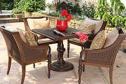 柏克利桌椅组合1桌4椅