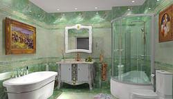 圆方 简洁卫浴设计