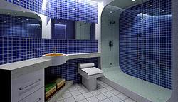 圆方 紫色梦幻卫浴设计