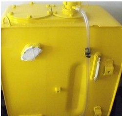 亚美小松PC200-7挖掘机液压油箱,水箱,散热器