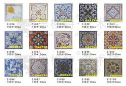 思格特陶瓷艺术砖-大花雕刻
