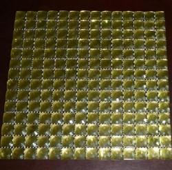 豫新 钻石玻璃马赛克 金色