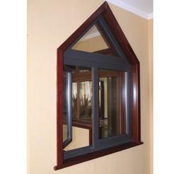 益林 意式木鋁復合窗