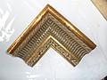 迪佳尔软包边框 金色花纹