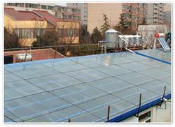 天虹 山东天虹弧板有限公司取暖应用陶瓷太阳能房顶(一)