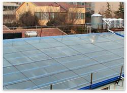 天虹 山东天虹弧板有限公司取暖应用陶瓷太阳能房顶(二)