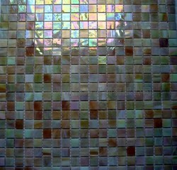 商亮 贝壳混拼彩色玻璃马赛克